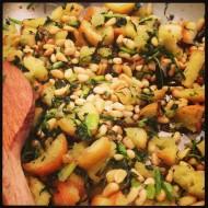 Savoury herb crumble a la Grace…