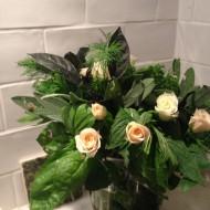 Easy edible floral posy