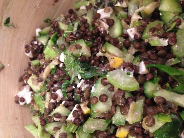 Kid-friendly Lentil Salad
