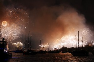 NYE on Sydney Harbour
