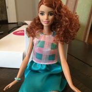 Barbie gets real. Kind of…