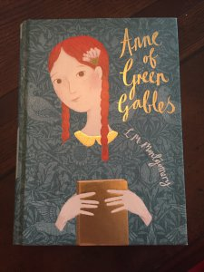 Re-reading Anne of Green Gables after watching Anne with an E on netflix.  Fab series!