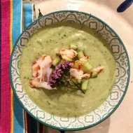 Avocado and Coconut Cream Soup