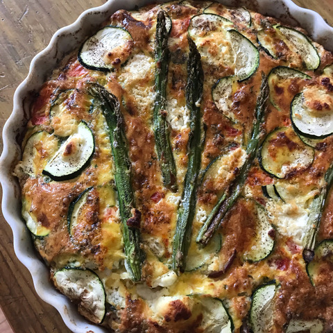 Salmon and Herb Frittata
